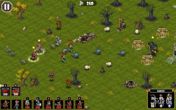 《皇室攻防战》游戏截图