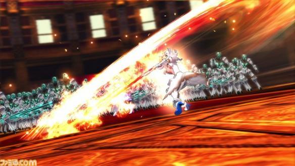《Fate/EXTELLA》游戏截图-2