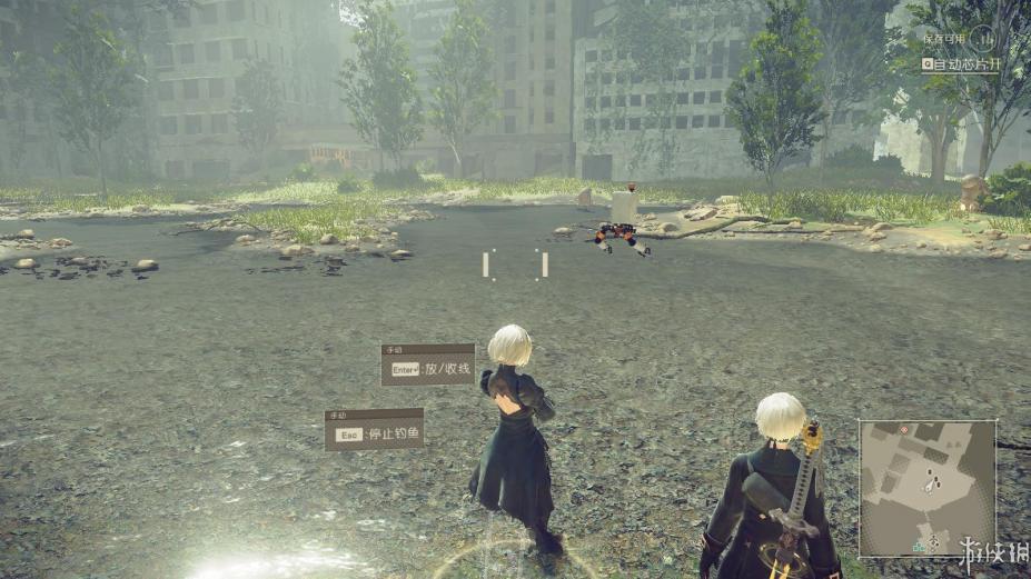 《尼尔:机械纪元》中文游戏截图