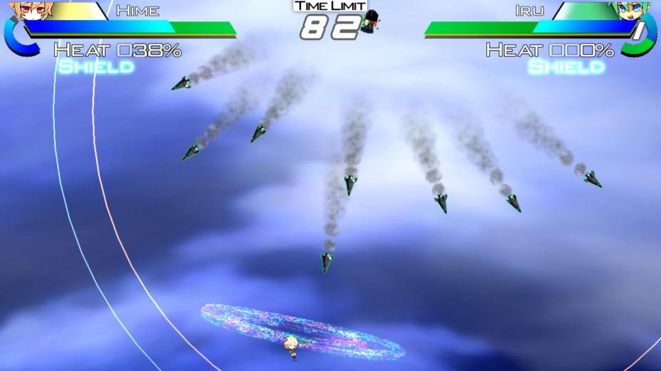 《SUGUR进阶弹幕X高清版》游戏截图
