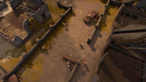 《散兵坑》游戏截图