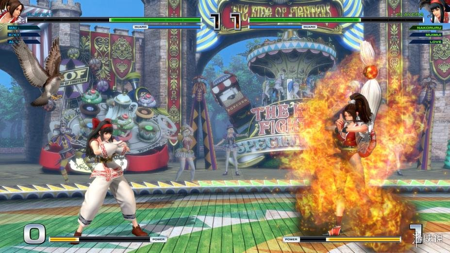 《拳皇14》游戲截圖