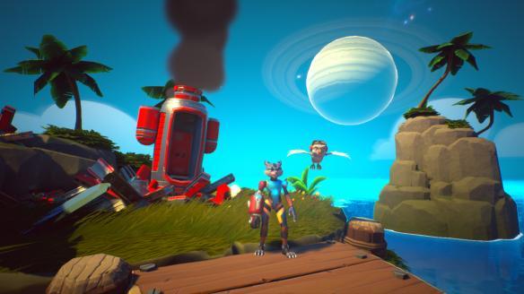 《斯凯乐和普鲁克斯:苜蓿岛大冒险》游戏截图