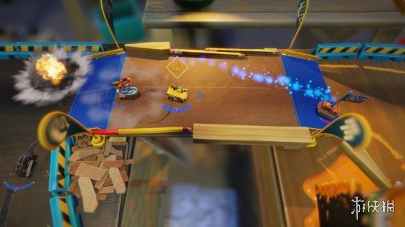 《迷你世界机车大赛》游戏截图