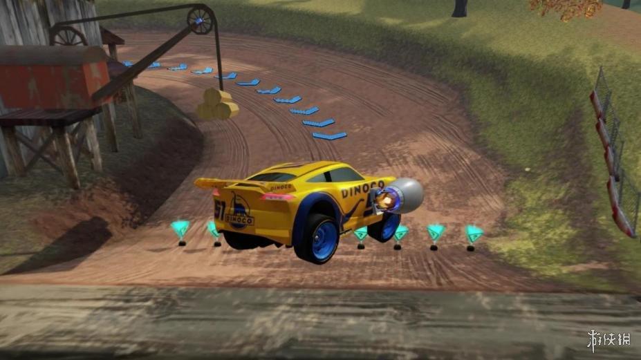 《赛车总动员3》游戏截图(1)