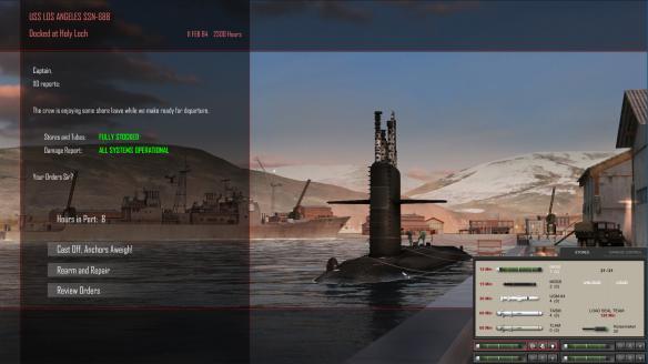 《冰冷海域》游戏截图