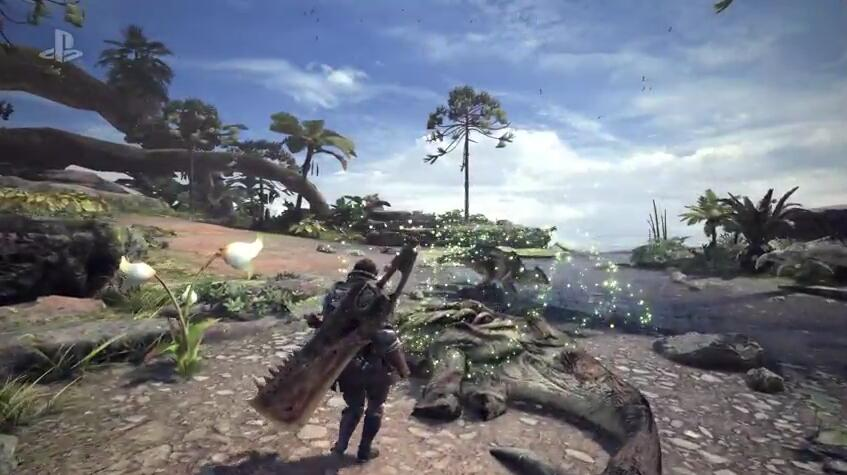 《怪物猎人世界》游戏截图