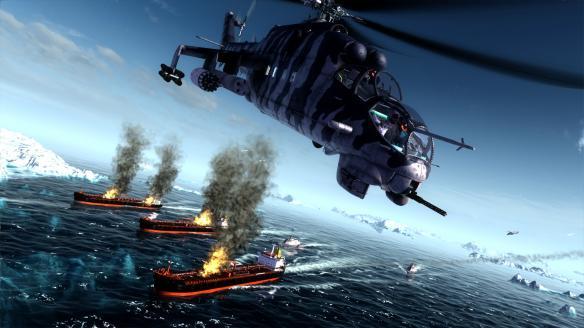 《空中任务:雄鹿直升机》游戏截图-1