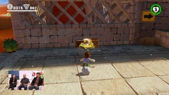 《超级马里奥:奥德赛》游戏截图
