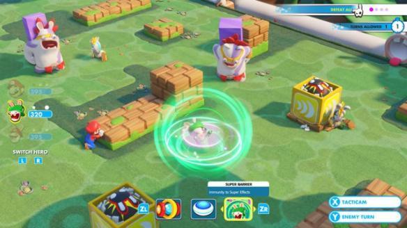 《马里奥+疯狂兔子:王国之战》游戏截图
