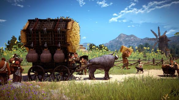 《黑色沙漠》游戏截图