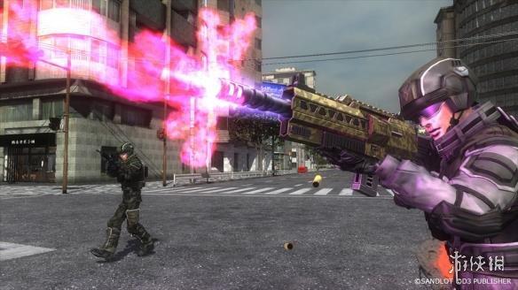 《地球防卫军5》游戏截图