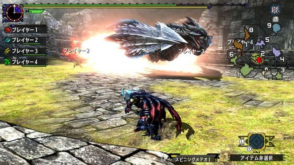 《怪物猎人XX》游戏截图