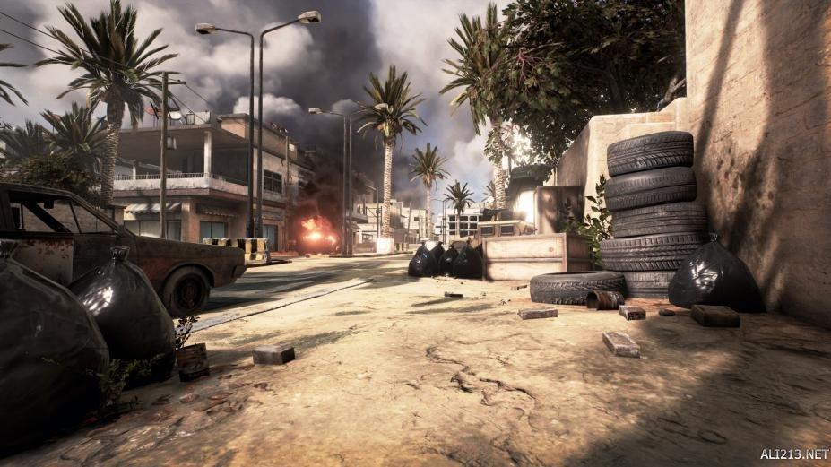 《叛乱:沙漠风暴》游戏截图