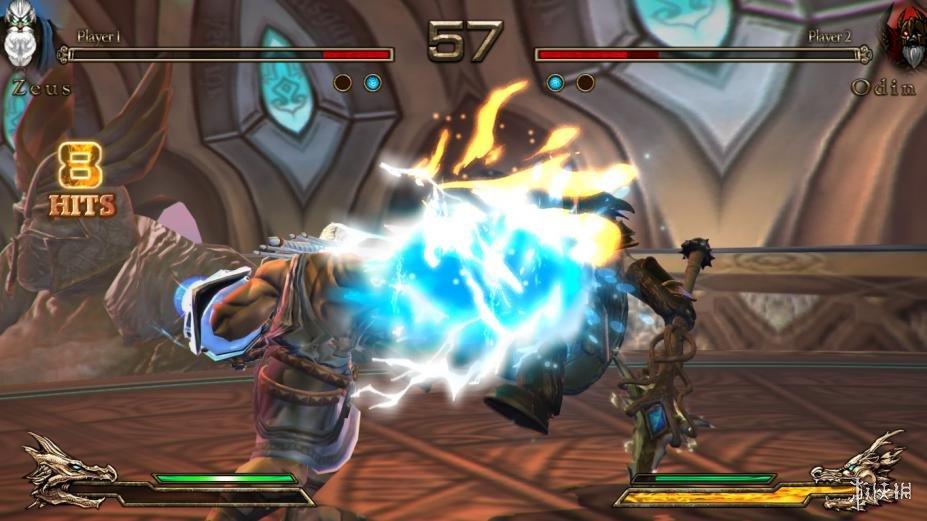 《諸神之戰》游戲截圖