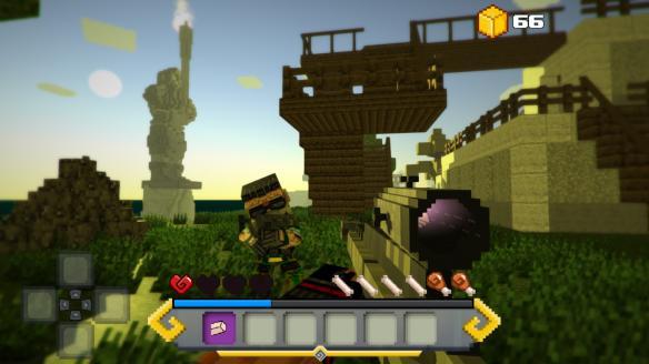 《方块生存:失落岛屿传说》游戏截图1