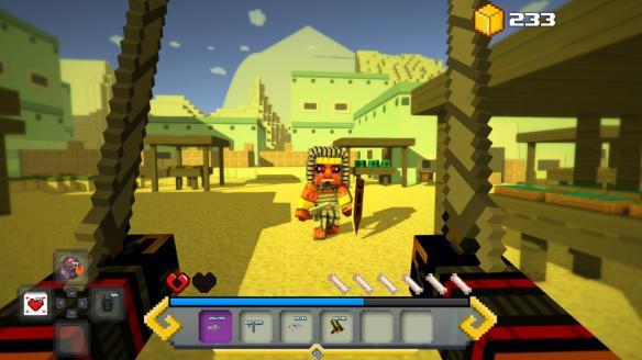《方块生存:失落岛屿传说》游戏截图2