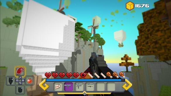 《方块生存:失落岛屿传说》游戏截图4
