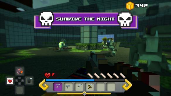 《方块生存:失落岛屿传说》游戏截图5