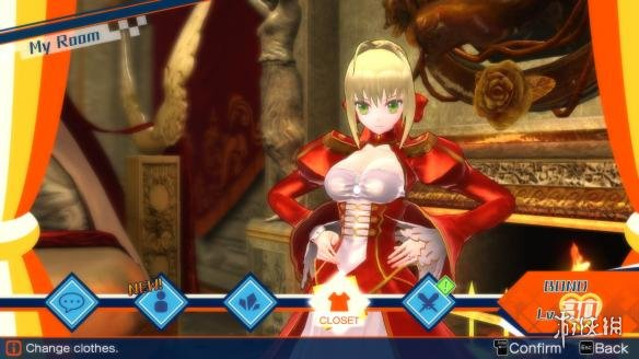 《Fate/EXTELLA》游戏截图