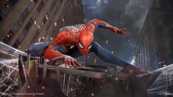 《漫威蜘蛛侠》游戏截图