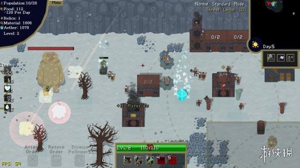 《堕落之地的神》游戏截图