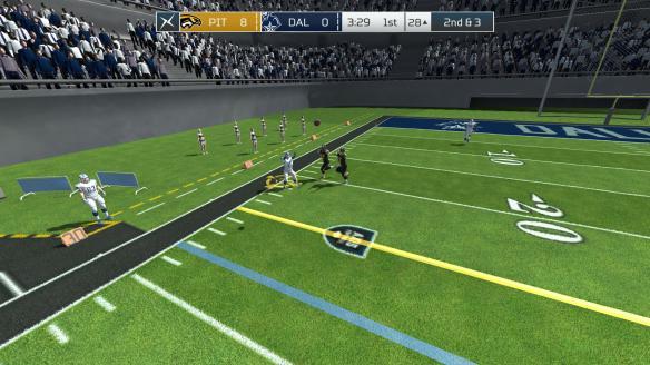 《轴心橄榄球2017》游戏截图