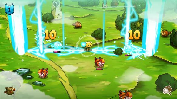 《猫咪斗恶龙》游戏截图-1