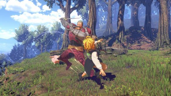 《七大罪:不列颠旅者》游戏截图-2