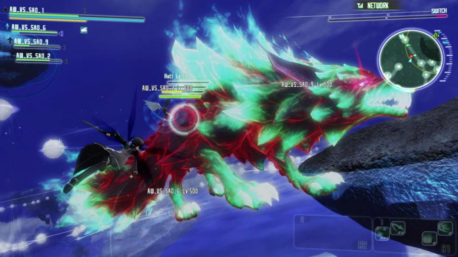 《加速世界VS刀剑神域:千年的黄昏》游戏截图-2(1)