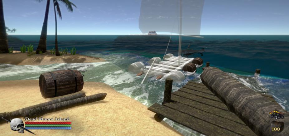 《蓝色地平线》游戏截图