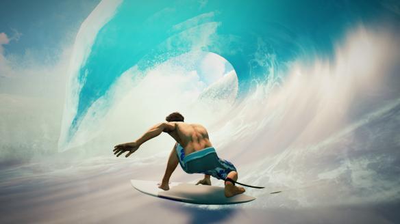 《冲浪世界系列赛》游戏截图