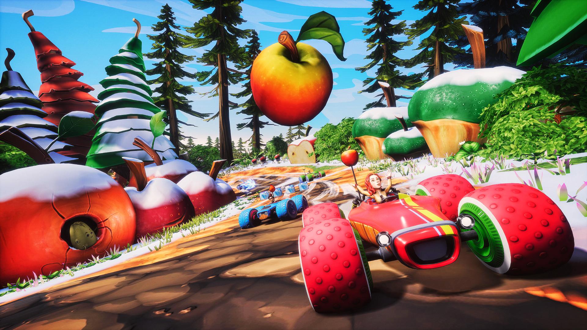全明星水果赛车/All-Star Fruit Racing