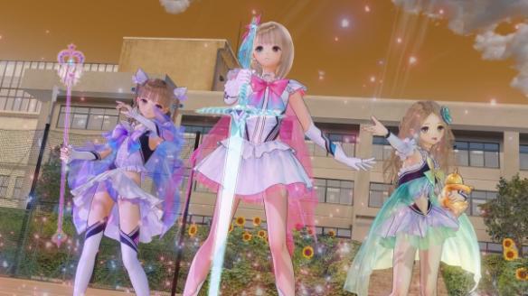 《Blue Reflection幻舞少女之剑》游戏截图-2