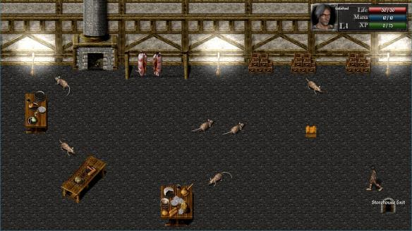 《地穴1:恶魔之战》游戏截图