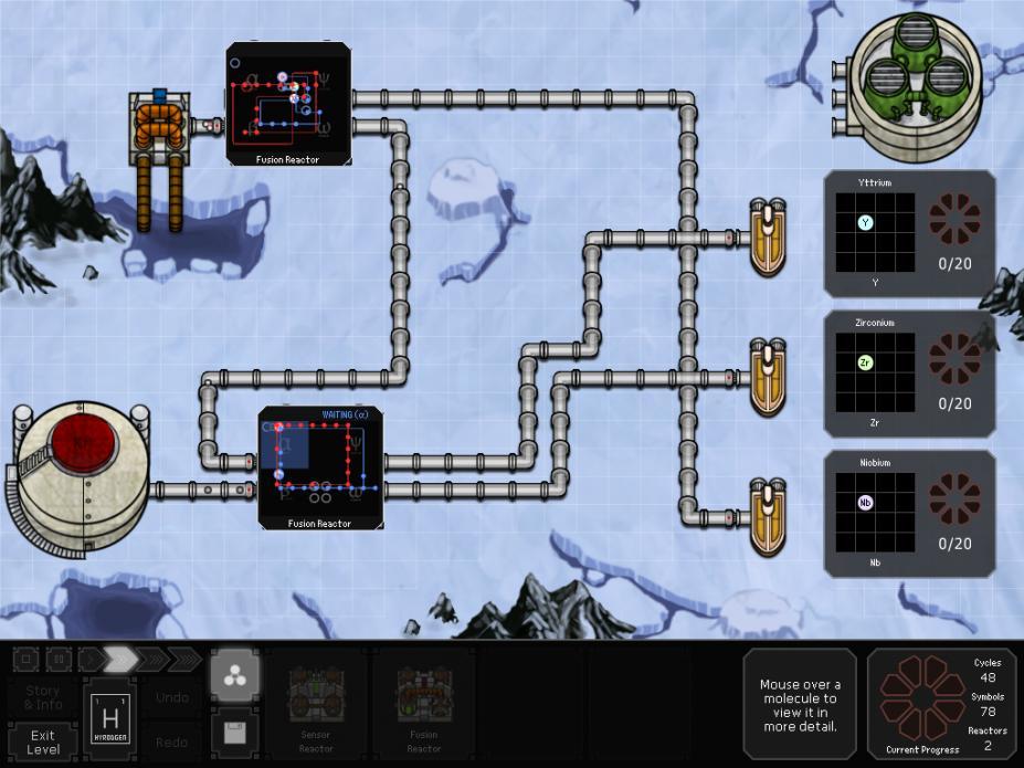 《太空化学》游戏截图