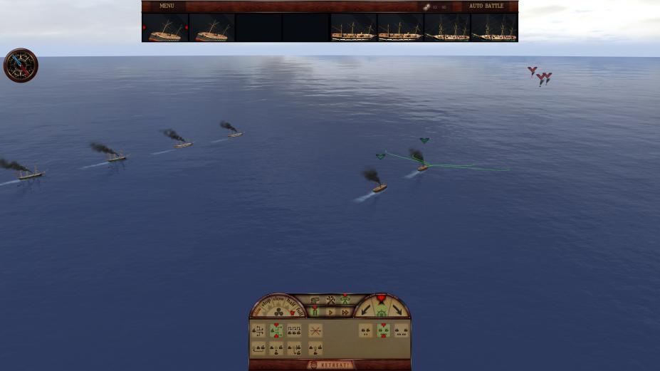 《钢铁包围:墨西哥湾1864》游戏截图