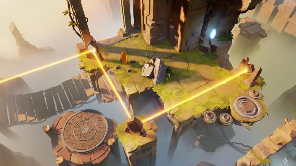 《Archaica:光之路》中文游戏截图
