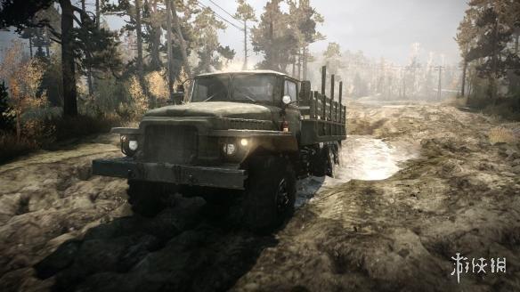 《旋转轮胎:泥泞奔驰》游戏截图