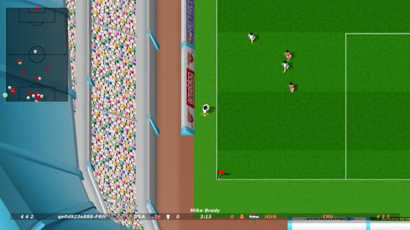 《迪诺迪尼的劲射足球》游戏截图