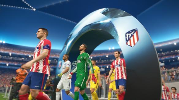 《实况足球2018》游戏截图-2