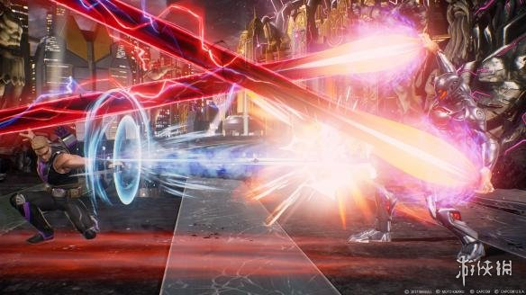 《漫画英雄VS卡普空:无限》游戏截图