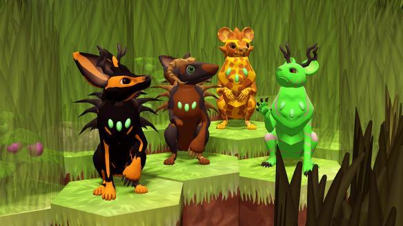 《生态位:遗传学生存游戏》游戏截图