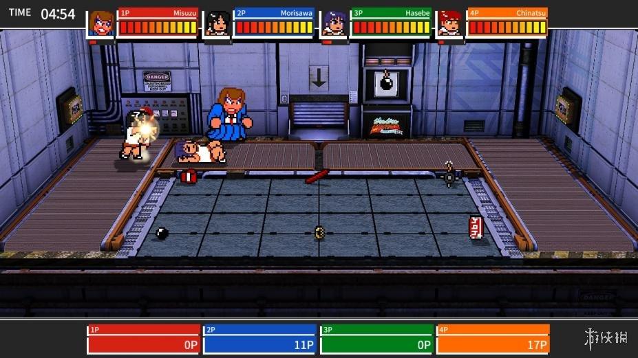 《热血格斗:大激战SP》游戏截图