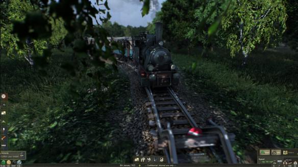 《战略火车大亨》游戏截图