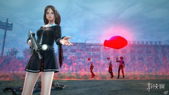 《校园女生僵尸猎人》游戏截图
