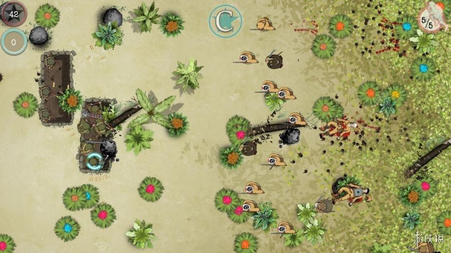 《散兵线》游戏截图