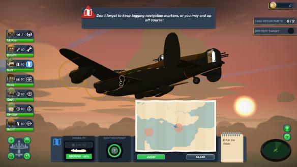 《轰炸机小队》游戏截图