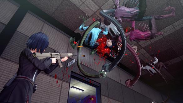 《校园女生僵尸猎人》游戏截图-2