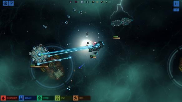 《作战部队:星际围攻》游戏截图